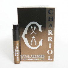 Charriol Royal Leather Vial